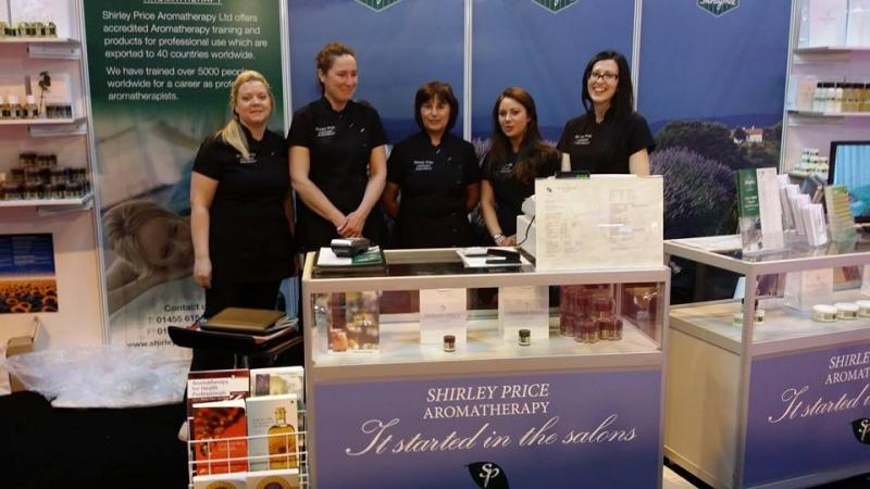 The Shirley Price team at the 2013 Exhibition